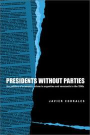 Cover of: Presidents Without Parties
