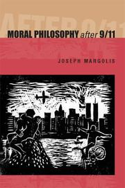 Cover of: Moral Philosophy After 9/11 | Joseph Margolis