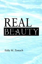 Cover of: Real Beauty | Eddy M. Zemach