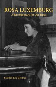 Cover of: Rosa Luxemburg | Stephen Eric Bronner