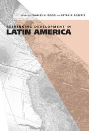 Cover of: Rethinking Development In Latin America |