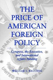 Cover of: Price Of Amer. Foreign Policy