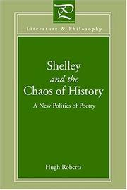 Cover of: Shelley And Chaos Of History