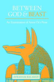 Cover of: Between God & Beast