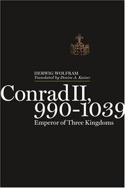 Cover of: Conrad II, 990-1039