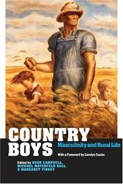 Cover of: Country boys by