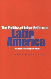 Cover of: Politics of Labor Reform in Latin America