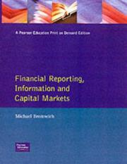 Cover of: Financial Reporting, Information and Capital Markets | Bromwich, Michael.