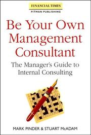 Cover of: Be your own management consultant
