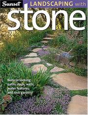 Cover of: Sunset Landscaping With Stone | Jeanne Huber