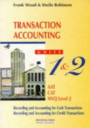 Cover of: BUSINESS ACCOUNTING | SHEILA ROBINSON FRANK WOOD