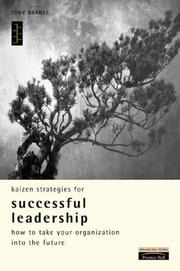 Cover of: Kaizen Strategies for Successful Leadership (Kaizen Series)