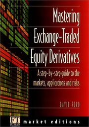 "Cover of: Mastering Equity Derivatives (""Financial Times"" Market Editions)"