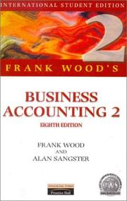Frank Wood's Business Accounting by Frank Wood, Alan Sangster