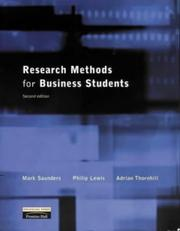 Cover of: Research Methods for Business Students | Mark N.K. Saunders