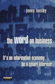 Cover of: The Word on Business | Jenny Luesby