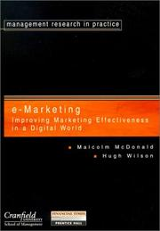 Cover of: Improving Marketing Effectiveness in Digital Age (Cranfield E-Marketing) | McDonald, Malcolm.