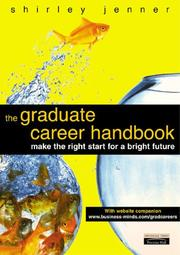 Cover of: The Graduate Career Handbook | Shirley Jenner