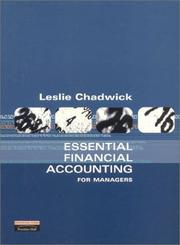 Cover of: Essential financial accounting