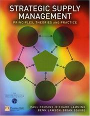 Cover of: Strategic Supply Management | Paul Cousins