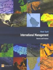Cover of: International Management