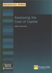 Cover of: Assessing the Cost of Capital (Financial Times Executive Briefings) | John Pointon