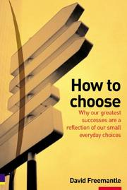 Cover of: How To Choose