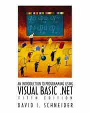 Introduction to Programming with Visual Basic .Net with Pin Card