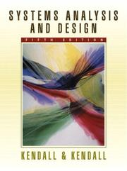 Cover of: Systems Analysis and Design with Pin Card | Kendall