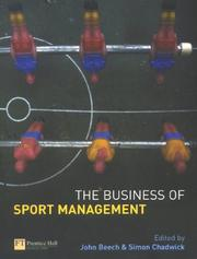 Cover of: The business of sport management |