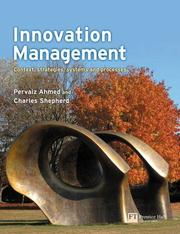 Cover of: Innovation Management | Pervaiz Ahmed
