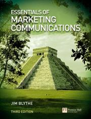 Cover of: Essentials of marketing communications |