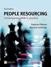 Cover of: People resourcing |