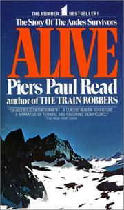Cover of: Alive by Piers Paul Read