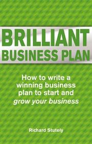 Cover of: Brilliant Business Plan