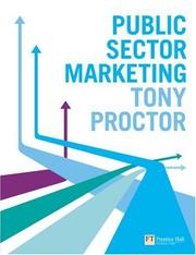 Cover of: Public Sector Marketing