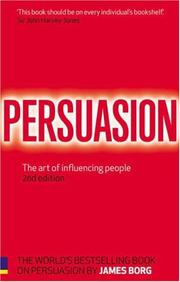 Cover of: Persuasion | James Borg