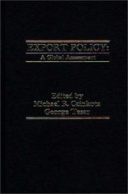 Cover of: Export Policy |