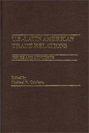 Cover of: U.S.-Latin American Trade Relations | Michael R. Czinkota