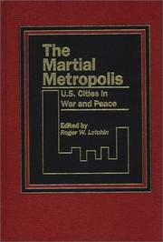 Cover of: The Martial Metropolis