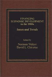 Cover of: Financing Economic Development in the 1980s |