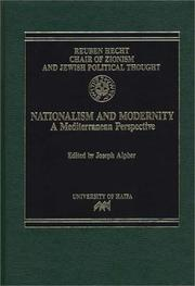 Cover of: Nationalism and Modernity