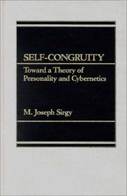 Cover of: Self-congruity