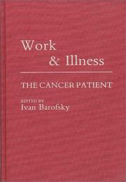 Cover of: Work and Illness | Ivan Barofsky