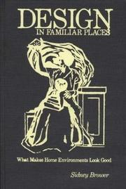 Cover of: Design in familiar places