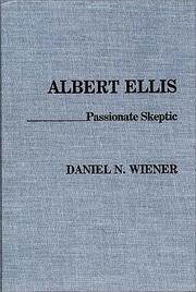 Cover of: Albert Ellis