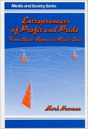 Cover of: Entrepreneurs of profit and pride