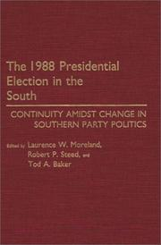1988 presidential election in the South