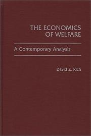 Cover of: The economics of welfare