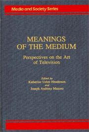 Meanings of the medium